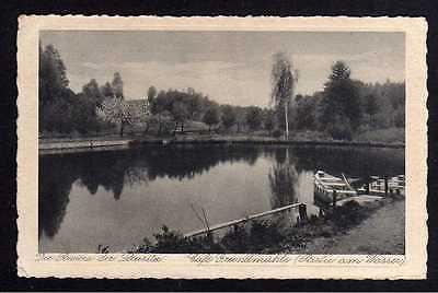 Ansichtskarte Cafe Grundmühle bei Seidenberg O.-L. 1928 Riviera der Lausitz