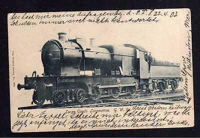 Ansichtskarte Large Goods Lokomotive Great Western Railway Manchester 1903