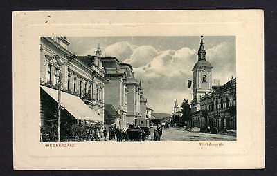 Ansichtskarte Beregszasz Bergsaß Berehowe Берегове 1915 Werböczy-ter Feldpost