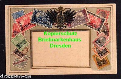 Ansichtskarte Marokko Deutsche Post Briefmarken Ansichtskarte Ottmar