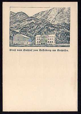 Ansichtskarte Gasthof zum Kesselberg Kochelsee Vorläufer 1894