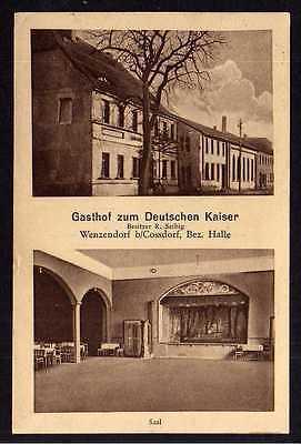Ansichtskarte Wenzendorf Koßdorf Cossdorf Gasthof zum Deutschen Kaiser 1912