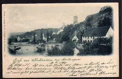 Ansichtskarte Rechtenstein 1899  Riedlingen