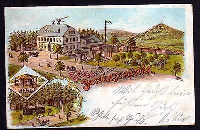 Ansichtskarte Gruss aus der Botzenschänke 1898 Litho Gaststätte Gasthaus