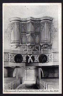 Ansichtskarte Großkmehlen St.-Georgs-Kirche Orgel Gottfried Silbermann 1718
