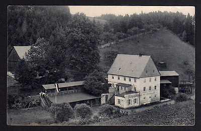 Ansichtskarte Restauration zur Forstmühle 1910 Krippengrund Schandau Sächs. Schweiz