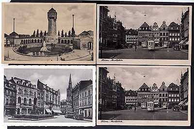 8 Ansichtskarte Düren 1901 Annakirche Stadttheater Marktplatz Kaiserplatz Wasserturm