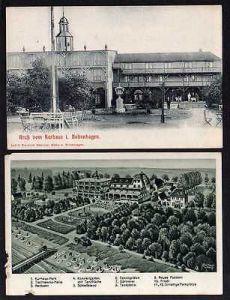 2 Ansichtskarte Boltenhagen Kurhaus Hotel Großherzog von Mecklenburg