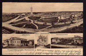 Ansichtskarte Neuhammer am Queis Truppenübungsplatz Offiziercasino 1912 Villa