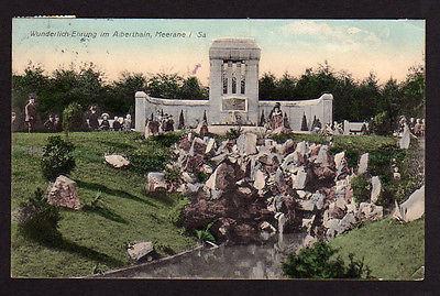 Ansichtskarte Meerane Alberthain Wunderlich Ehrung 1910