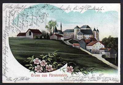 Ansichtskarte Fürstenstein Landkreis Passau 1905