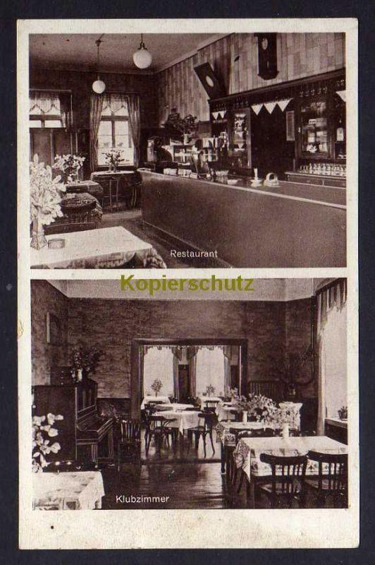 Ansichtskarte Hude Oldenburg 1940 Ausflugslokal Klosterschänke ...