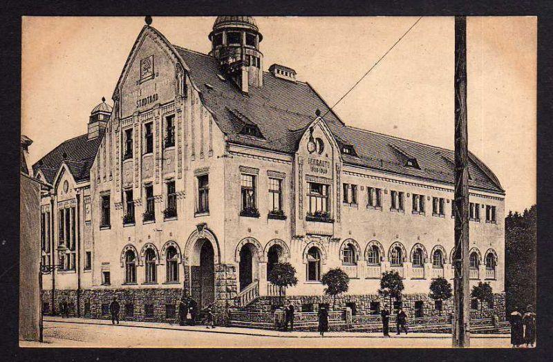 Ansichtskarte Jablonec nad Nisou Gablonz an der Neiße Stadtbad um 1910