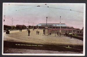 Ansichtskarte Sydney Bahnhof New Central Railway Station