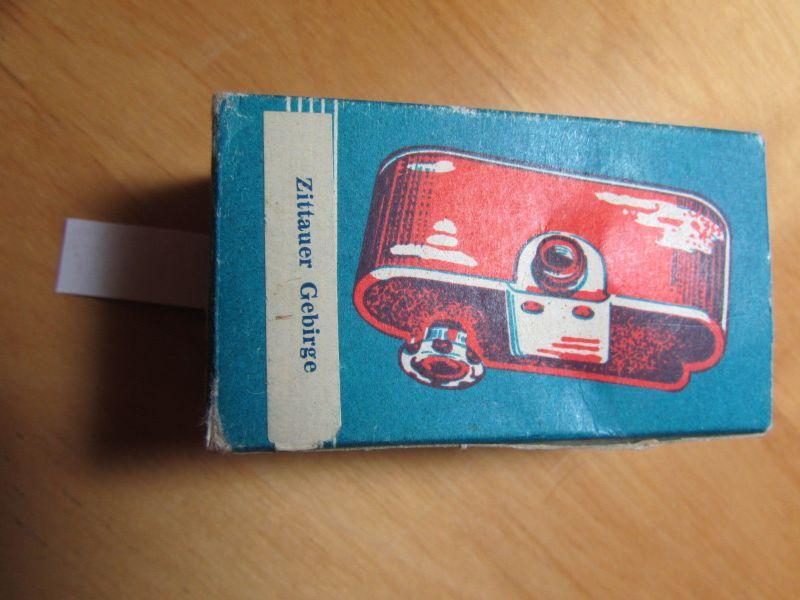 Haufe Filmbox  Zittauer Gebirge im Original Karton 18 Bilder als Endlosschleife 1