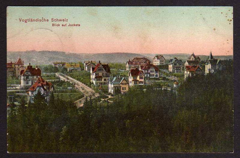 Ansichtskarte Vogtländische Schweiz Jocketa 1909