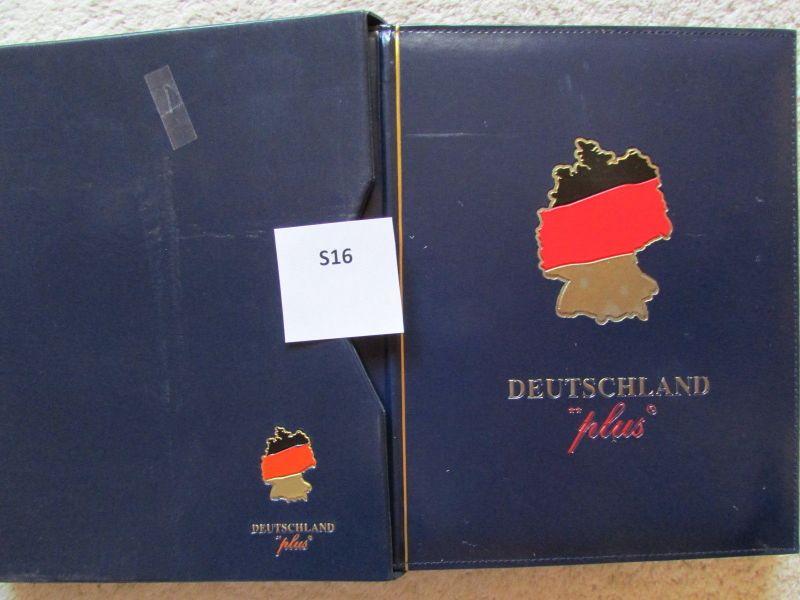 S16 Abo Sammlung BRD Deutschland plus 2000 postfrisch  gestempelt 2001 1. Quarta