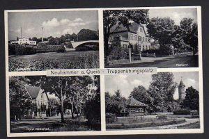 Ansichtskarte Neuhammer am Queis 1937 Truppenübungsplatz Postamt Hotel Kaiserhof