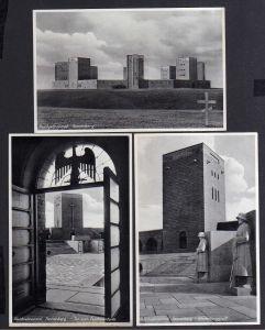 3 Ansichtskarte Hohenstein Ostpr. um 1935 Reichsehrenmal Tannenberg Hindenburggruft
