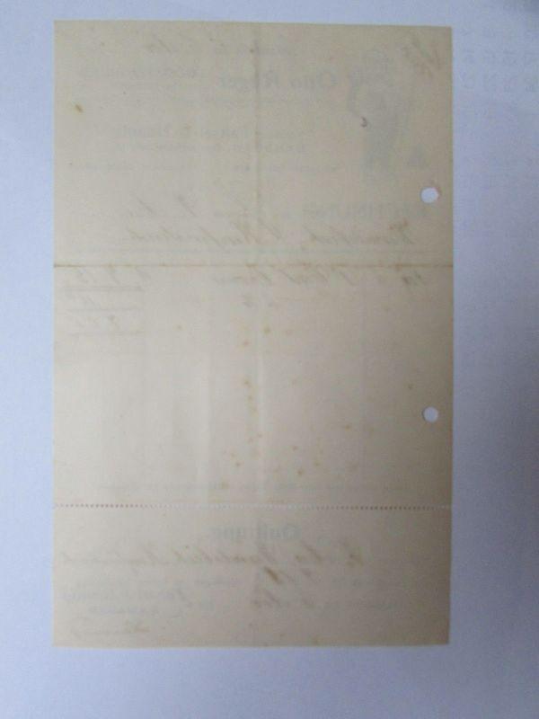 v545 Briefbogen Firmenrechnung Dresden Zigaretten Fabrik A.M. Eckstein & Söhne F 1