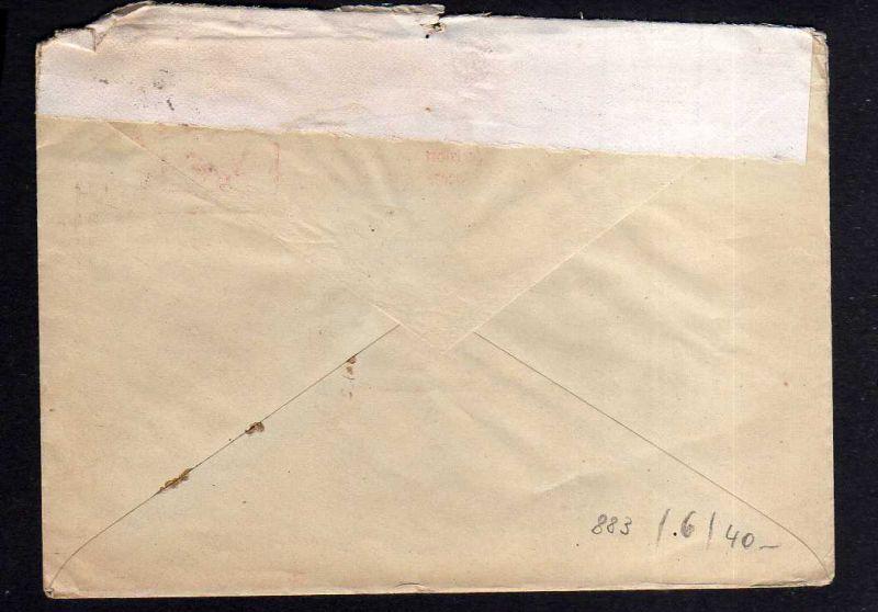 h883 Brief Handstempel Bezirk 2° Raguhn 28.6.48 Stanz- u.Drahtwerk Heerbrandt 1