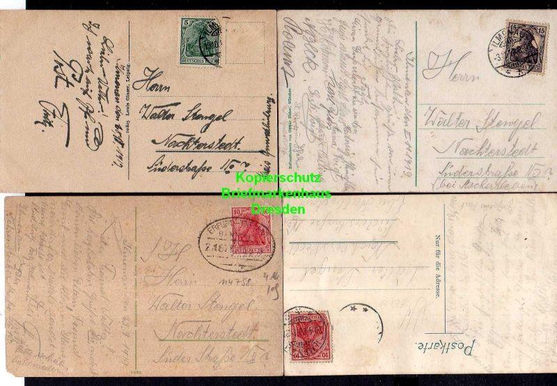 5 Ansichtskarte Suderode Litho Behringer Sool Brunnen 1901 Markt 1912 Hotel Michaeli 1