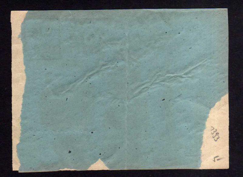 h1393 Handstempel Bezirk 14 Dresden 47 Briefvorderseite 1