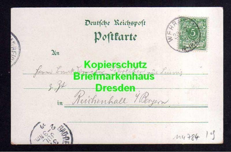 Ansichtskarte Saalburg Taunus 1897 Litho Römer Restauration zur Saalburg 1