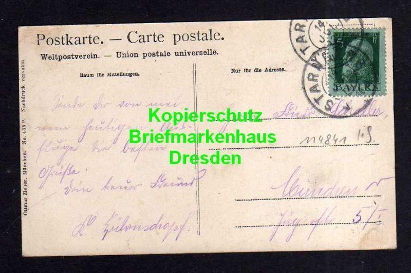 Ansichtskarte Starnberg 1912 1