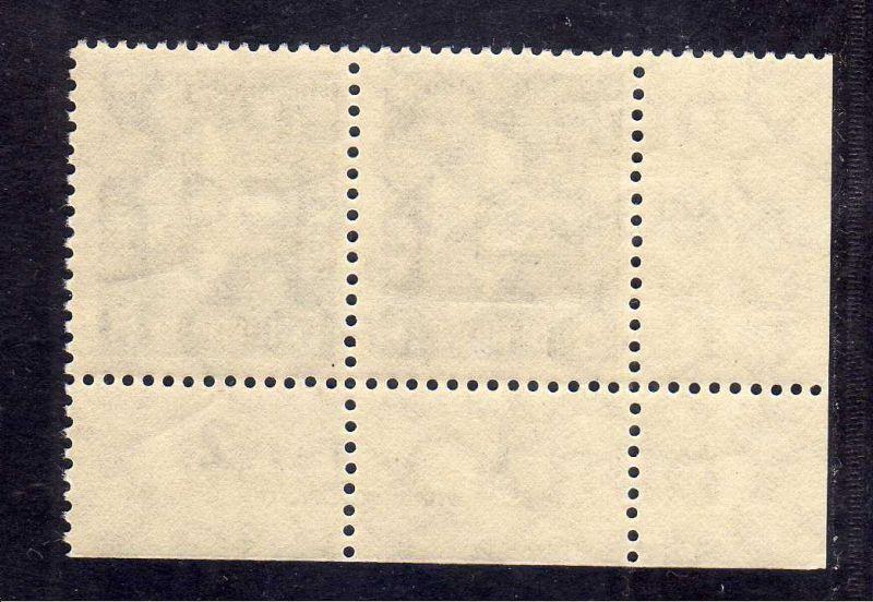 DDR 1957 609 Luftpost Dauerserie 5 Pfg. R 1-2 ** DV ungefalten nicht angetre 1