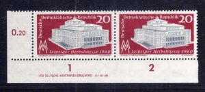 DDR 781 ** DV c/7 Leipziger Herbstmesse