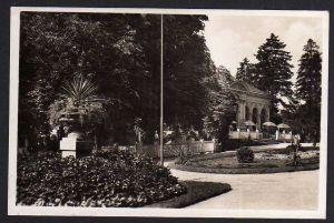 Ansichtskarte Olmütz Olomouc Stadtpark Feldpost 1942
