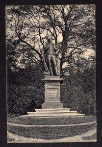 Ansichtskarte Stettin Denkmal Friedrich des Großen Vollbild Feldpost 1914