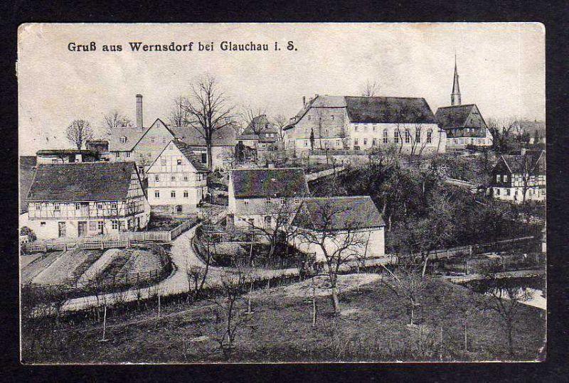 Wernsdorf ist ein Ort in Österreich-Ungarn - Ehemalige Ostgebiete