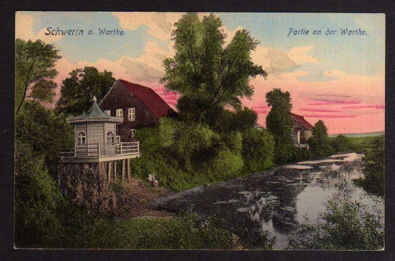 Ansichtskarte Skwierzyna Schwerin an der Warthe 1909