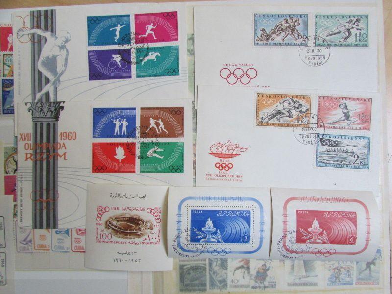 Briefmarken Olympia 1972 Motivsammlung In 3 Alben