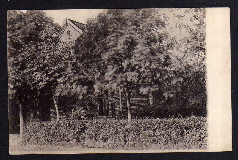 Ansichtskarte Göllchendorf Ostpreußen 1908 Kr. Preußisch Holland