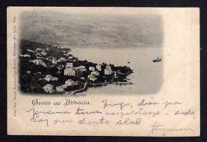 Ansichtskarte Opatija Abbazia 1898 Kroatien