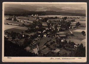 Ansichtskarte Kleinhennersdorf über Königstein Hahn Foto Ansichtskarte 1958 Landpoststempel