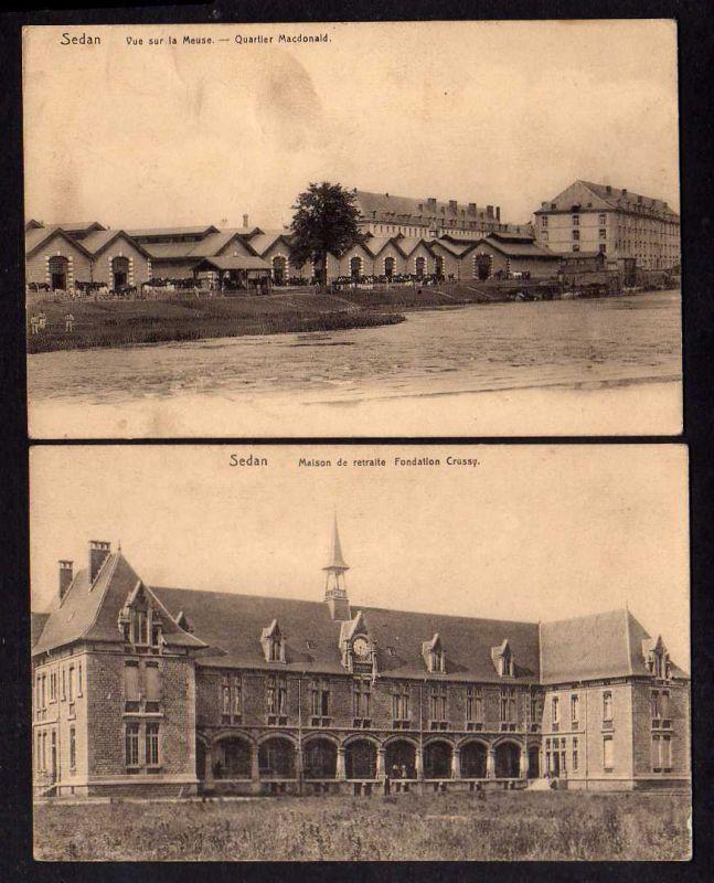 Ansichtskarte Sedan Maison de retraite Fondation Crussy Quartier Macdonald