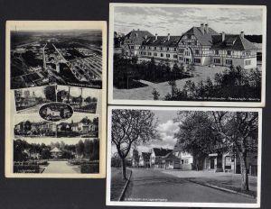 3 Ansichtskarte Grafenwöhr Lagereingang Cafe Spahn Foto Spahn 1936 Truppenübungsplatz