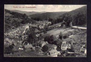 Ansichtskarte Ruhla von der Knaudtstraße 1914