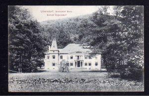 Ansichtskarte Ullersdorf Grafschaft Glatz Schloss Oppersdorf 1907
