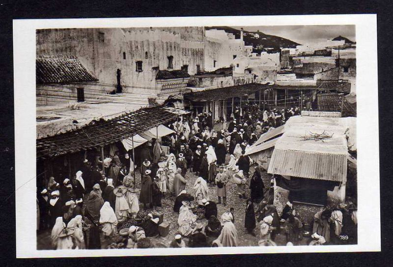 Ansichtskarte Tetuan Tétouan Marokko Marktplatz