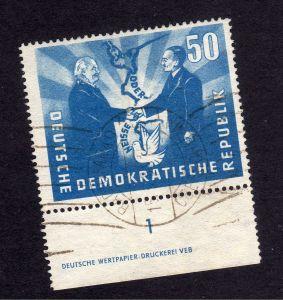DDR 285 DZ gestempelt Rollstempel Berlin
