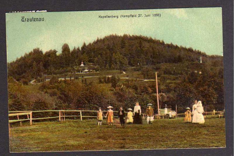 Ansichtskarte Trautenau Kapellenberg  1911