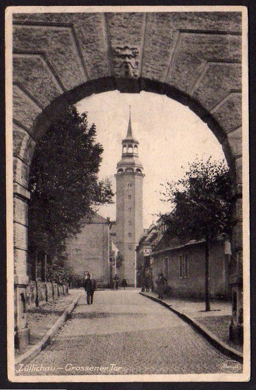 Ansichtskarte Züllichau Crossener Tor Sulechów