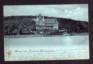 Ansichtskarte Gravenstein 1898 Kurhaus Restaurant