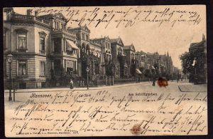 Ansichtskarte Hannover Am Schiffgraben 1906