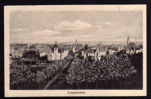Ansichtskarte Bad Langensalza 1916 Gesamtansicht